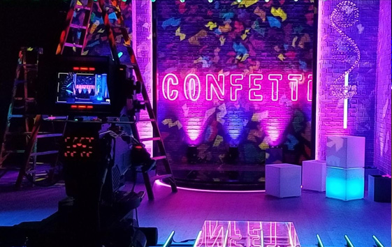 Confetti<br><h3>Facebook Live, B17 Entertainment</h3>