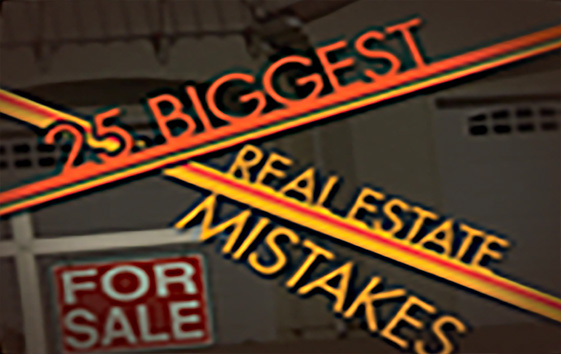 25 Biggest Real Estate Mistakes HGTV, Sharp Entertainment