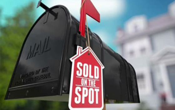 Sold on the Spot <br><h3>HGTV, Sharp Entertainment</h3>